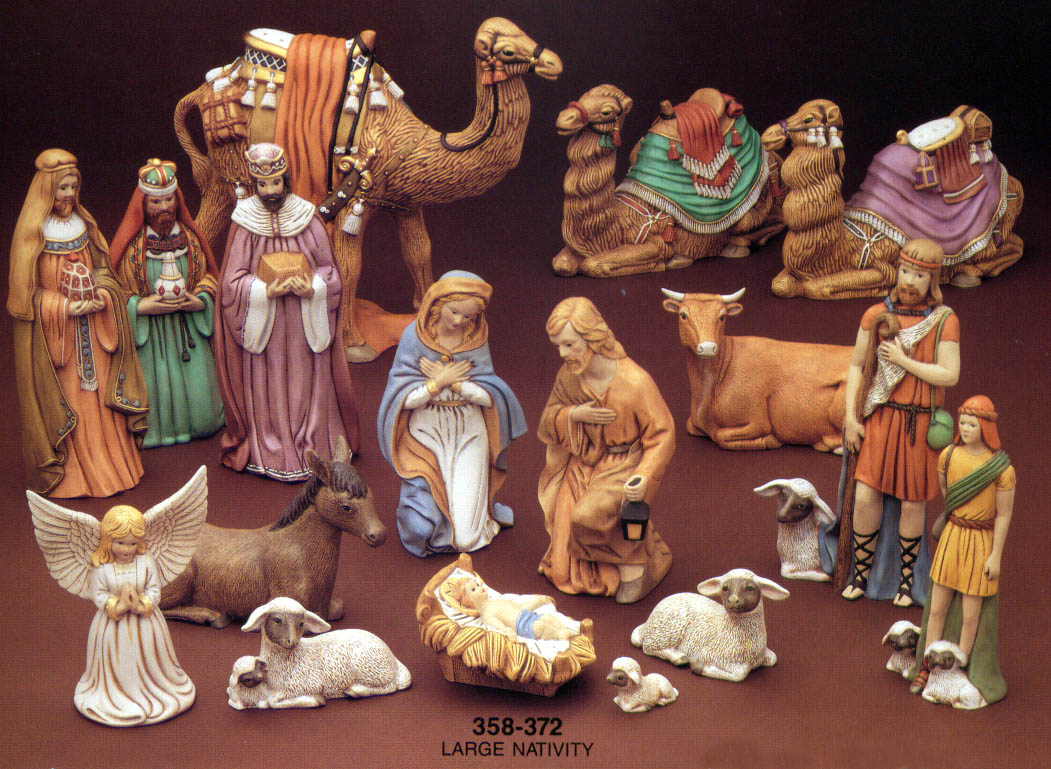 Nativity set church raffle preorder your large nativity set now to